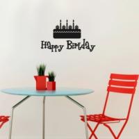 Özgül Grup Özgül Grup Duvar Sticker Happy Birtday | 45x27