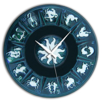 Frank Ray Astroloji 60cm Mdf Duvar Saati CZG3B185