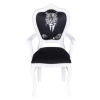 3A Mobilya Tiger Sandalye - Siyah