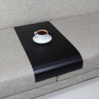 Esser Süper Siyah - Koltuk Sehpası 30x60 cm