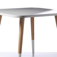 Woodenbend Hudson Natural Beyaz Masa