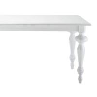 Woodenbend Squer Beyaz Masa