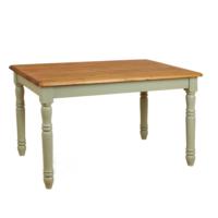 Woodenbend Tiffany Krem Eskitilmiş Masa