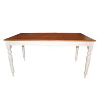 Woodenbend Royal Masif Beyaz Masa