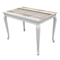 Kozza Home Lükens Masa 70x110 cm Beyaz Hl/Whtw Beyaz Eskitme