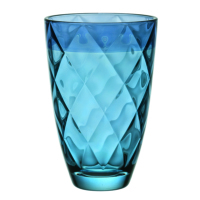 Vidivi Cam Vazo Euforia Mavi 24 cm