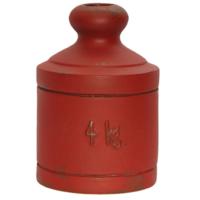 Kuk Home Ağırlık Vazo 4 Kg Kırmızı