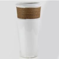 Desen Home İpli Şemsiye Vazo Beyaz 35 cm Gs99885
