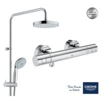 Grohe New Tempesta 200 Termostatik Duş Bataryalı Banyo Seti