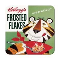 Nostalgic Art 2 Li Kellog'S Frosted Flakes Tony Tiger Bardak Altlığı 9 x 9 cm