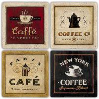 Oscar Stone Cafe Tabloları Bardak Altlığı