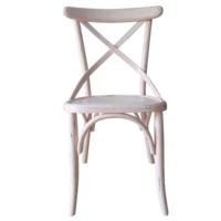 Senora Özlem Antik Su Bazlı Thonet Sandalye - Pembe