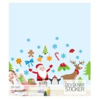 Artikel Yeni Yıl Dev Duvar Sticker