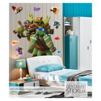 Artikel Ninja Kaplumbağalar-2 Dev Duvar Sticker