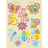 Dekorjinal Çocuk Odası Sticker Kcs32