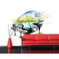 Artmodel Suluboya Piyano Poster Duvar Kağıdı Pda-22