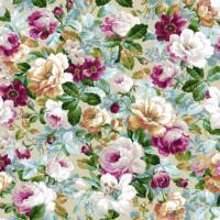Mot Çiçekli Duvar Kağıdı 10-003702