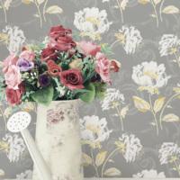 Mot Çiçekli Duvar Kağıdı 10-008503