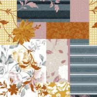 Mot Çiçekli Duvar Kağıdı 10-006602