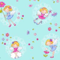 Mot Çocuk Odası Duvar Kağıdı 10-011602