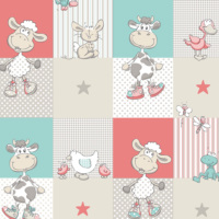 Mot Çocuk Odası Duvar Kağıdı 10-011302