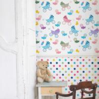 Mot Çocuk Odası Duvar Kağıdı 10-009301