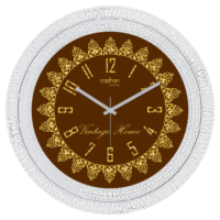 Cadran Lu x ury Dekoratif Çatlak Desen Duvar Saati Cl242