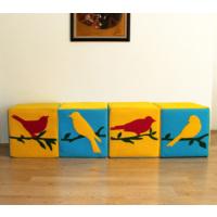 Gibi Design Robins Kuşlu Puf