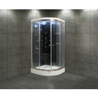 Shower Aqua SW-2252 SİSTEM 2 SİYAH