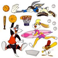 Smartdeco Looney Tunes Actıve - Yapışkanlı Sticker