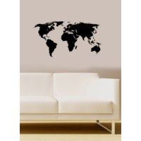 Özgül Grup Özgül Grup Dünya Haritası Duvar Sticker   97x50 cm