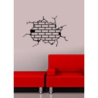 Özgül Grup Özgül Grup Çatlak Taş Duvar Sticker | 47x32 cm