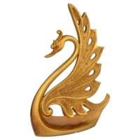 Vitale Varak Serisi Altın Kuğu Obje (Büyük)
