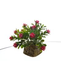 Vitale Yapay Çiçek Küp Saksılı Mor Bonzai