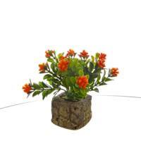Vitale Yapay Çiçek Kırmızı Bonzai
