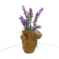 Vitale Yapay Çiçek Saksıda Bonzai Menekşe