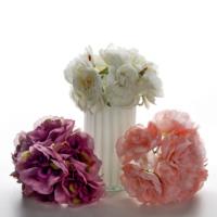 Vitale Rengarenk Kısa Buket Yapay Çiçek