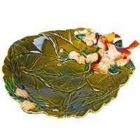 İhouse 21073 Dekoratif Tabak Yeşil