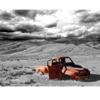 Innova Desert Car Iı 60X80 Cm Cam Tablo