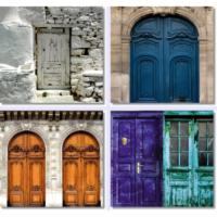 Fotocron The Doors 4'lü Tablo