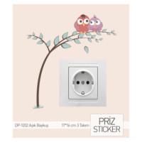 ARTİKEL Aşık Baykuş Priz Sticker DP-1202