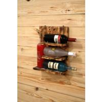 Oldwooddesign 4'lü Şaraplık Raf