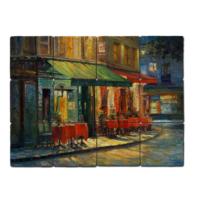 Oscar Stone Cafe De Paris Doğal Taş Tablo