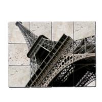 Oscar Stone Eiffel Tower Doğal Taş Tablo