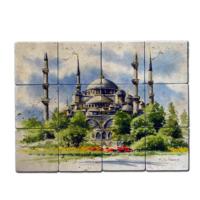 Oscar Stone İstanbul 2 Doğal Taş Tablo