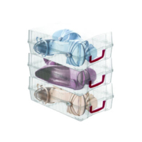 Altınay Şeffaf Bayan 5'li Klasik Ayakkabı Kutusu