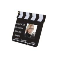 BuldumBuldum Clip Board Photo Frame - Klaket Çerçeve - Cam Küçük Boy - 22X20Cm