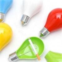 BuldumBuldum Bulb Ashtray - Ampul Küllük - Sarı