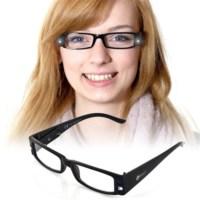BuldumBuldum Led Reading Glasses - Led Işıklı Kitap Okuma Gözlüğü - Siyah - Numarasız