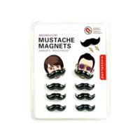 BuldumBuldum Mustache Magnets And Push Pins - Bıyık Magnet Ve Raptiyeler - 8'Li Magnet Seti